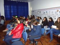 Professores e alunos assistiram as apresentações